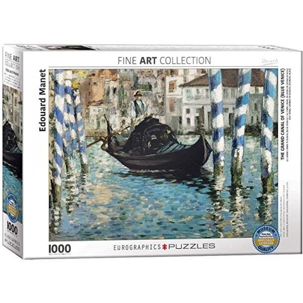 Kanał w Wenecji, Eduard Manet, 1000el. (Smart Cut Technology) - Sklep Art Puzzle